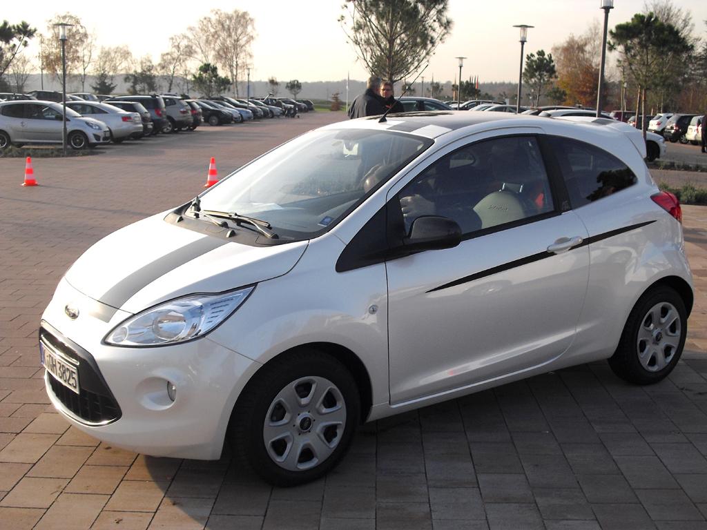 Der Ka ist das aktuelle Einstiegsmodell bei Ford, ...