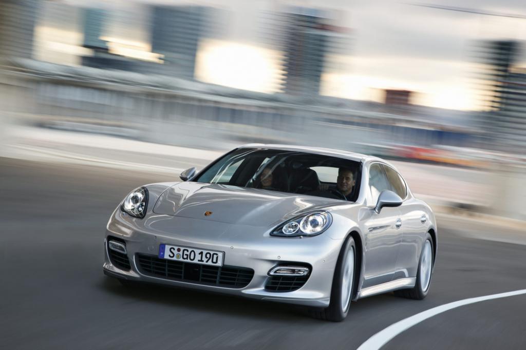 Der Porsche Panamera bietet den geringsten Wertverlust in der Oberklasse