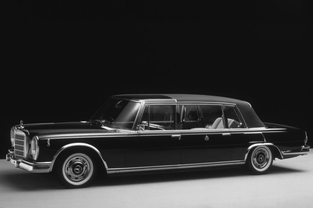 Der Pullmann war ein Auto für die Wichtigen und Reichen