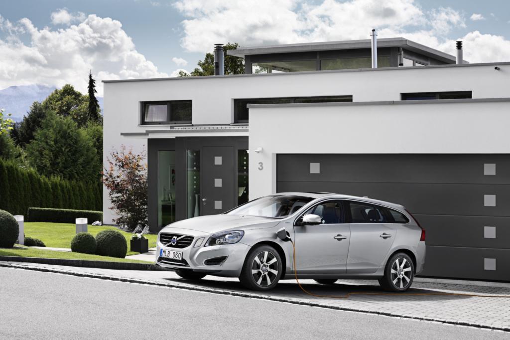 Der Volvo V60 Plug-in soll 50 Kilometer rein elektrisch fahren