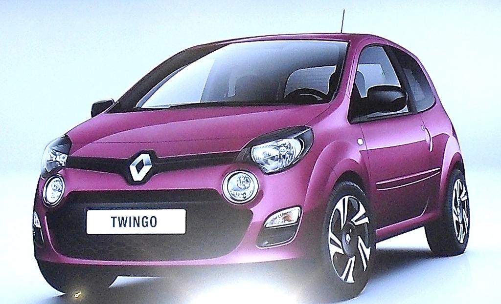 Der nächste Twingo zeigt als erster Serien-Renault das neue Markengesicht.