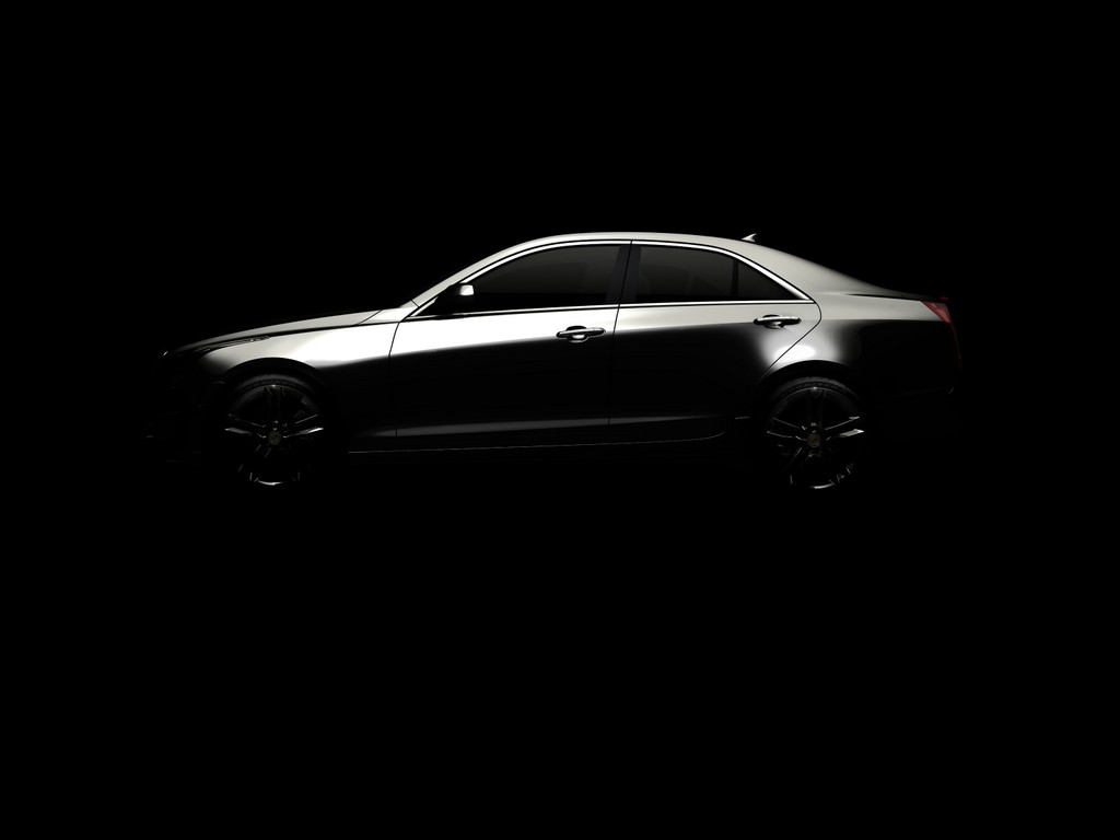 Detroit 2012: Cadillac ATS kommt mit 135 PS Literleistung