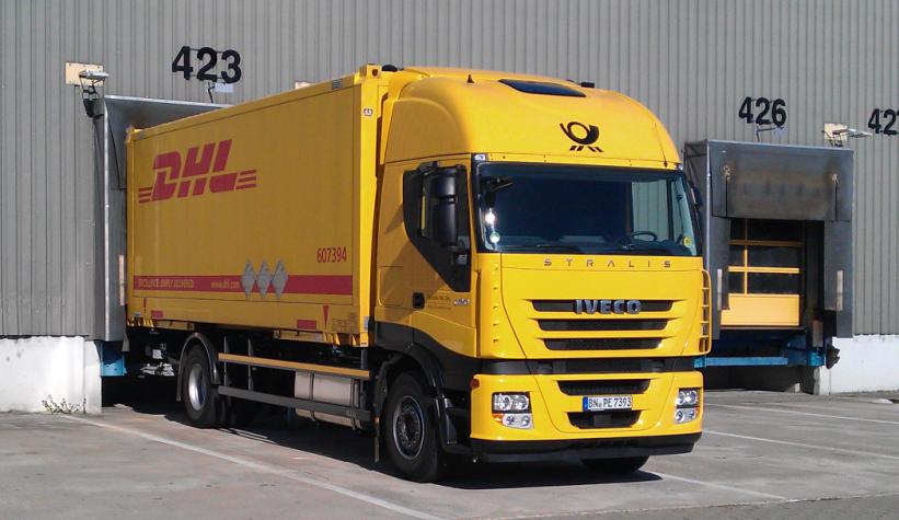Deutsche Post setzt auf Iveco Stralis