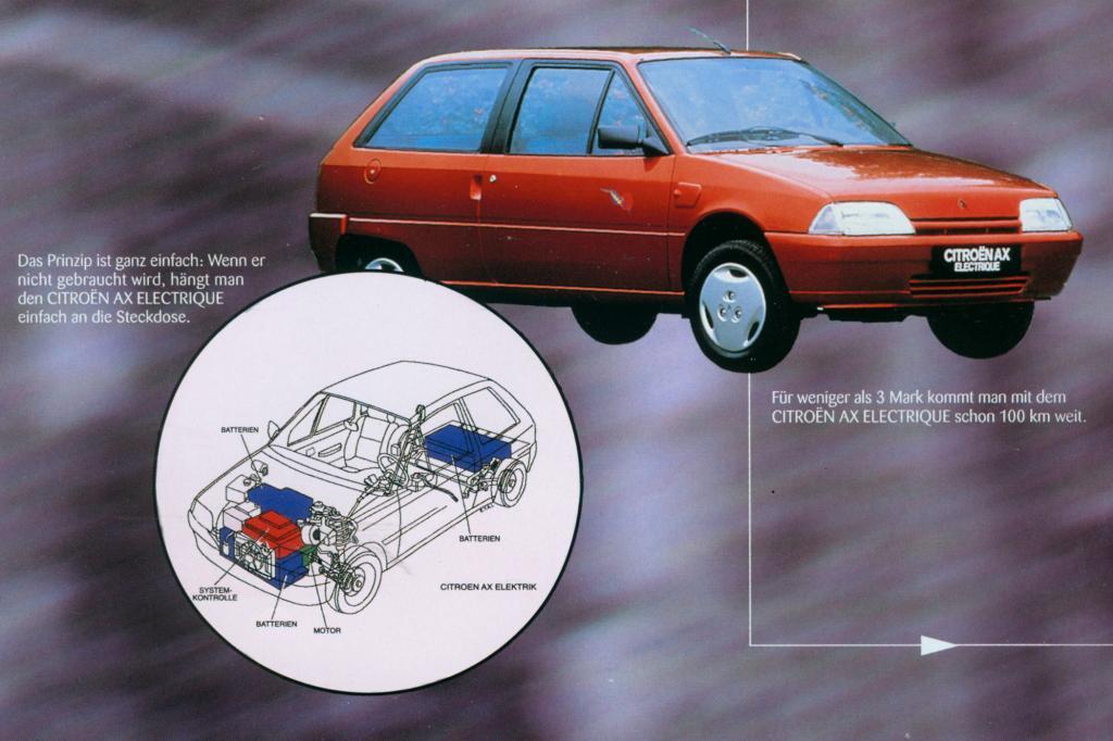 Die Elektroversion von 1993 verkaufte sich 364 Mal