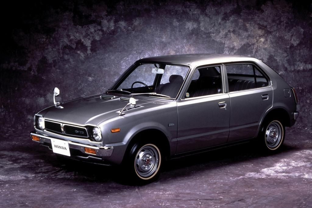 Die erste Generation des Civic startete 1971