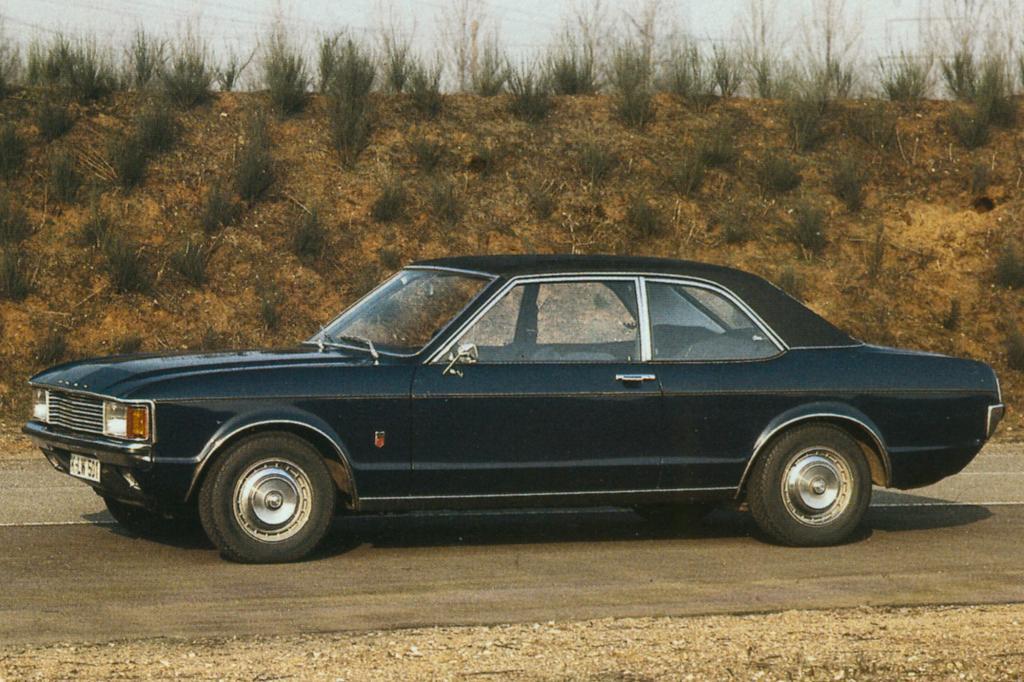 Die zweitürige Limousine des Granada von 1973