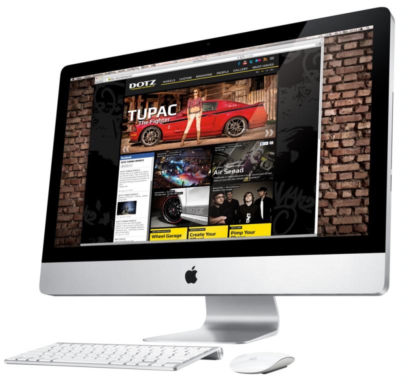 Dotz Tuning Wheels mit neuer Website