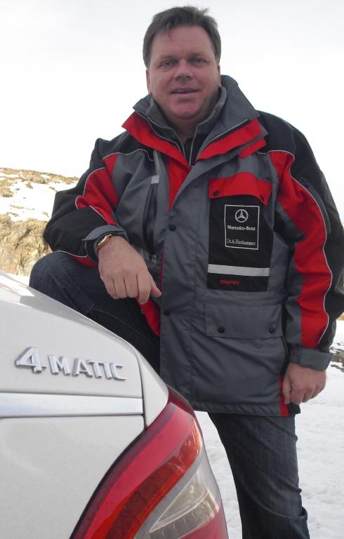 Dr. Alfons Hierhammer ist Leiter Produktmanagement SUV und Kompaktfahrzeuge bei Mercedes.
