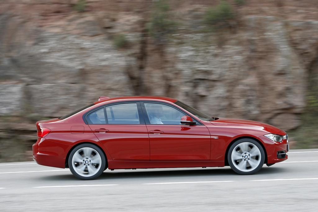 Ebenfalls neu: der BMW 3er