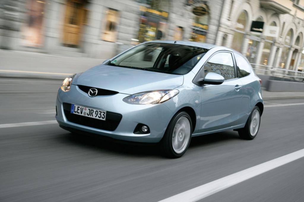 Ein Muster an Zuverlässigkeit unter den zwei- bis dreijährigen Gebrauchten ist der Mazda2.