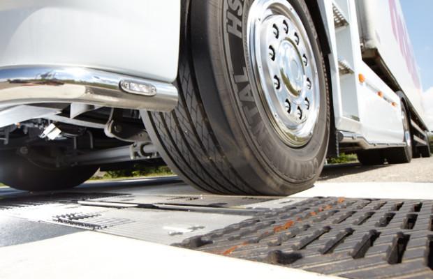 Erste automatisierte Messstelle für Lkw-Reifen in neuen Bundesländern