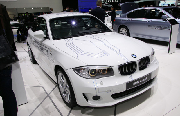Erster Flottenversuch mit dem BMW Active E.