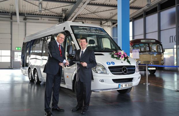 Erster Mercedes-Benz Sprinter City 77 ausgeliefert