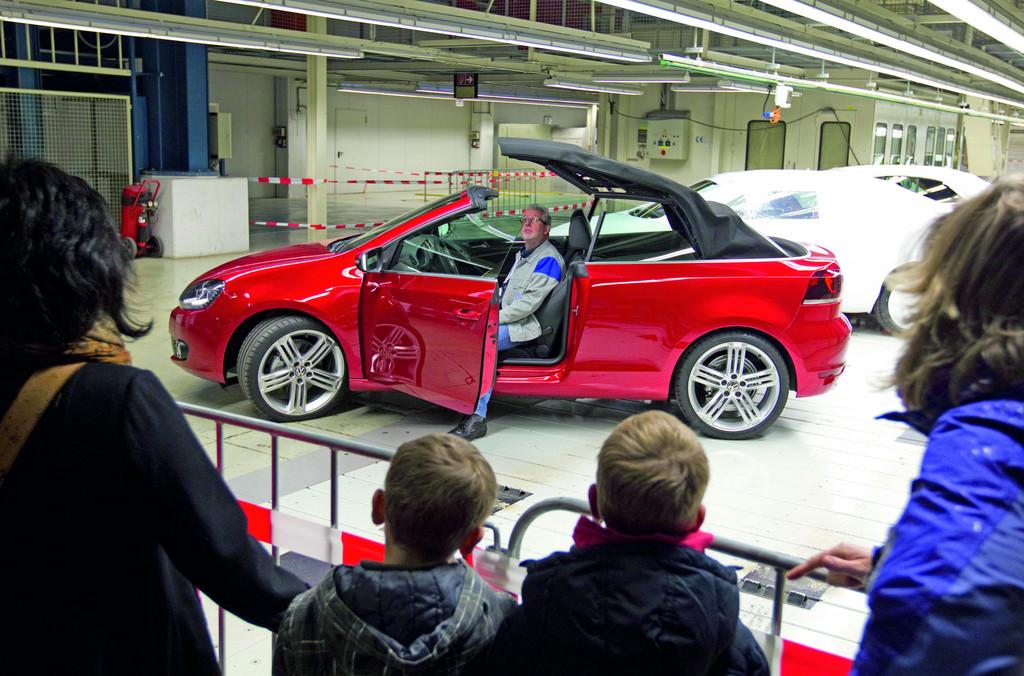 Familientag bei Volkswagen in Osnabrück.