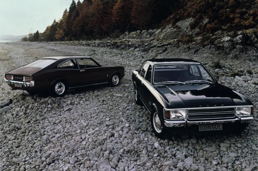 Ford Consul von 1972
