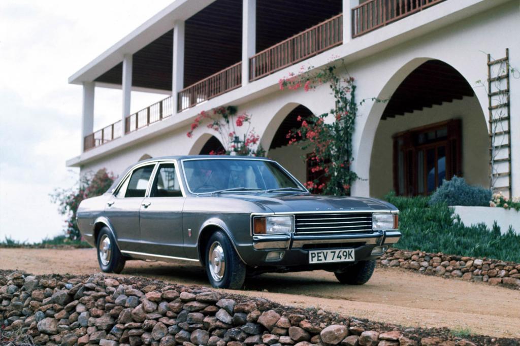 Ford Granada Limousine 4tuerig 1972