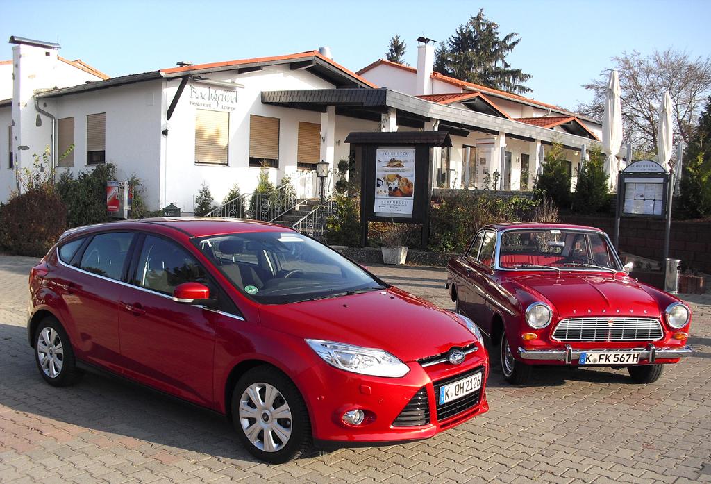 Ford-Neuheiten 2012: Ranger, B-Max, Focus ST, -Elektro, Dreizylinder, Türkantenschutz