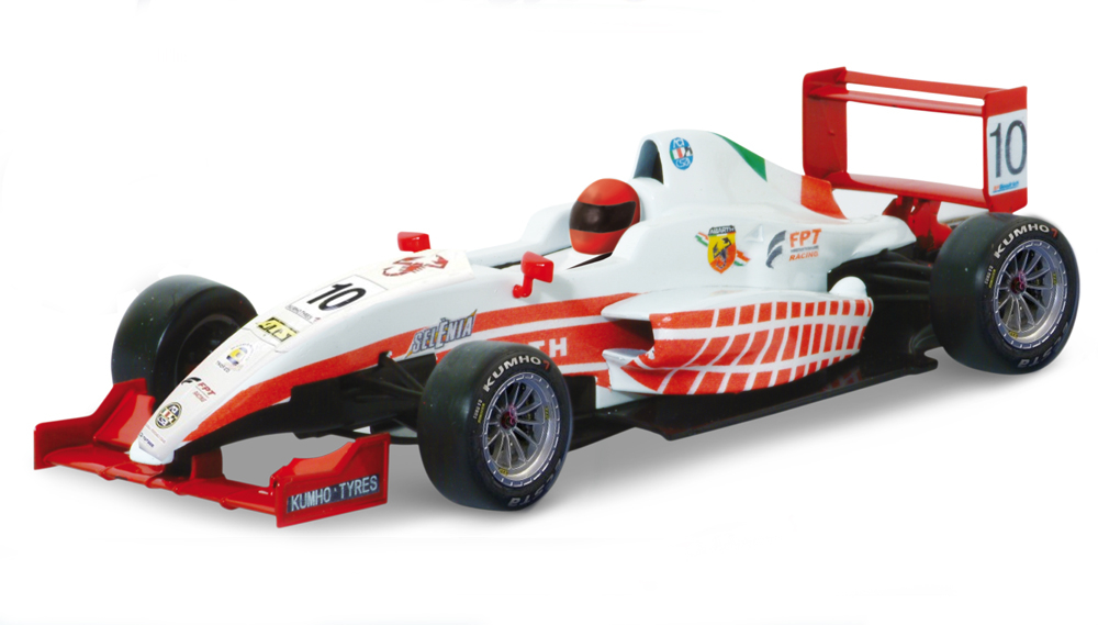 Geschenkidee für Abarth-Fans: Formular-Modellauto.