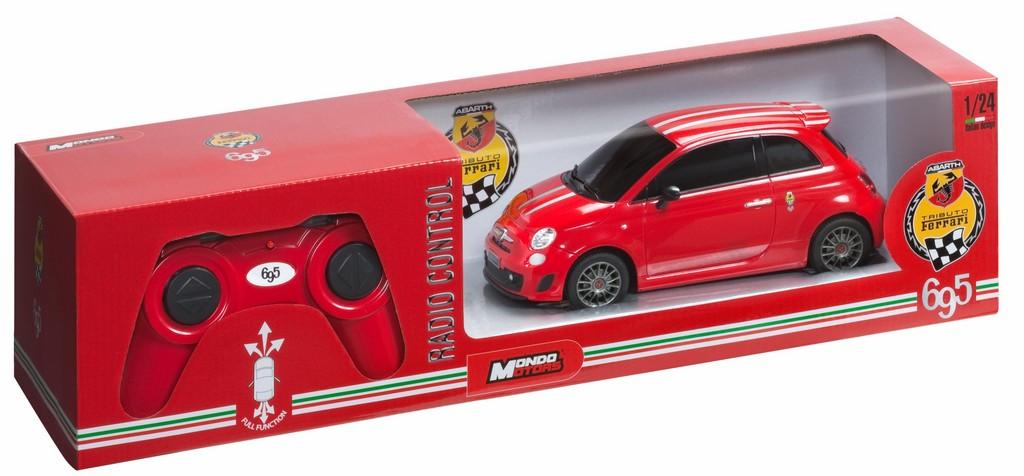 Geschenkidee für Abarth-Fans: ferngesteuerter 695 Tributo Ferrari.