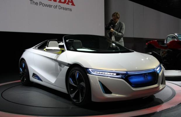 Honda Roadster - Stromer für Zwei