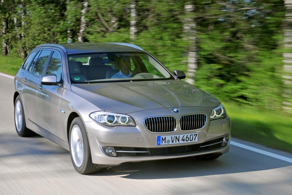 In der oberen Mittelkalsse ist der BMW 5er Touring besondes preisstabil