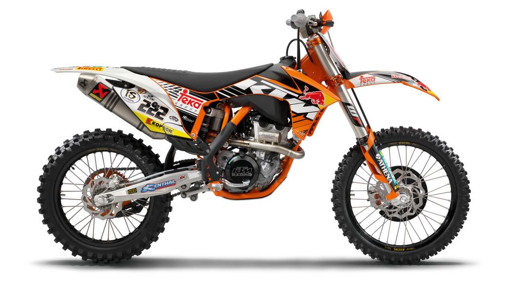 "KTM 350 SX-F ""Cairoli Edition""."