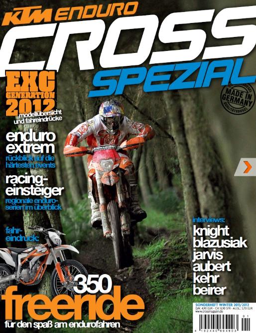 KTM bringt Cross Magazin als Sonderausgabe