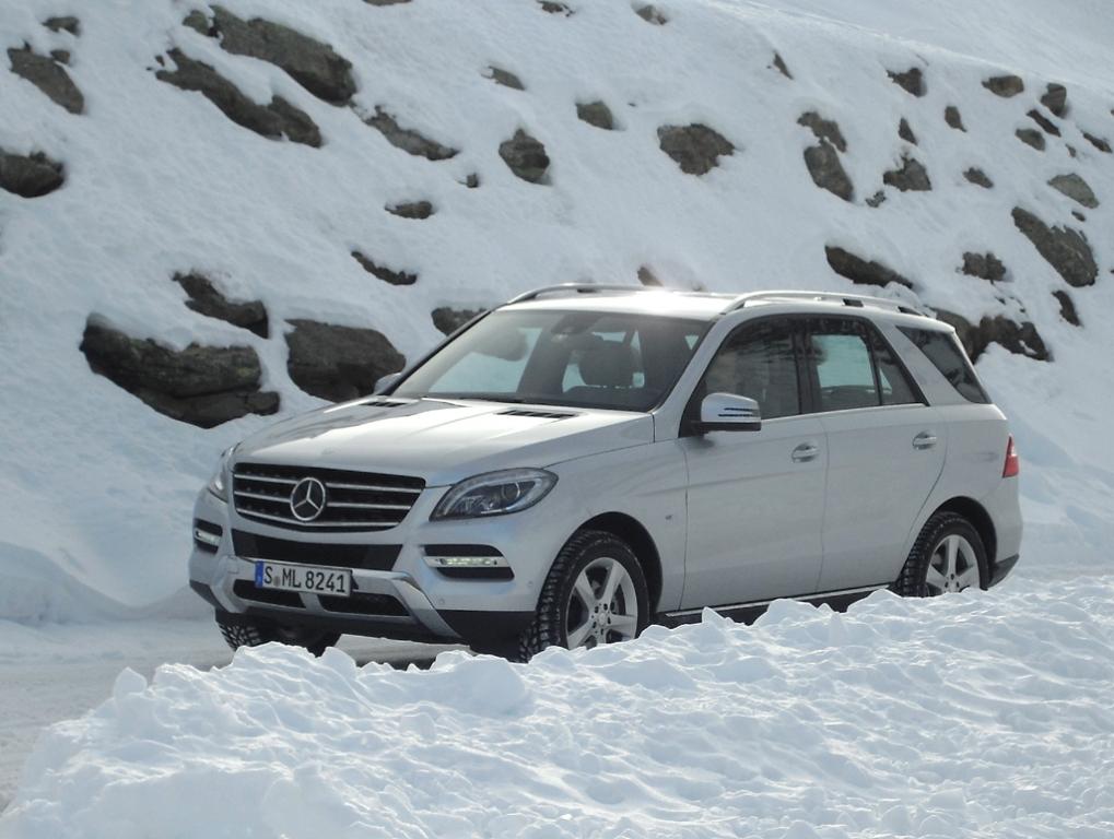 Kein Schnee von gestern: Mercedes setzt auf Permanentallrad auch bei Vierzylinder