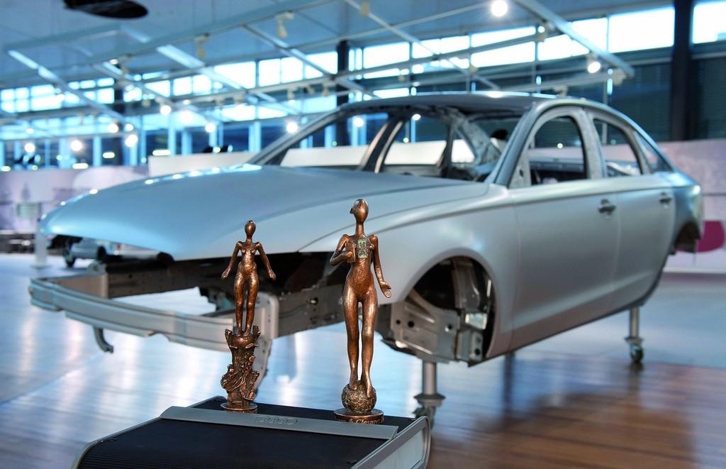 Konstrukteure der Audi-A6-Karosserie ausgezeichnet