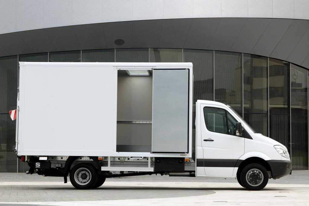 Leichte Kofferaufbauten für den Mercedes-Benz Sprinter