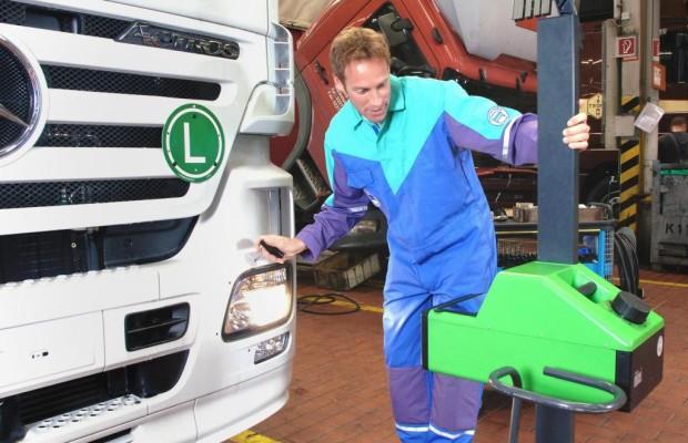 Lichttest 2011: Viele Mängel bei Lkw und Bussen