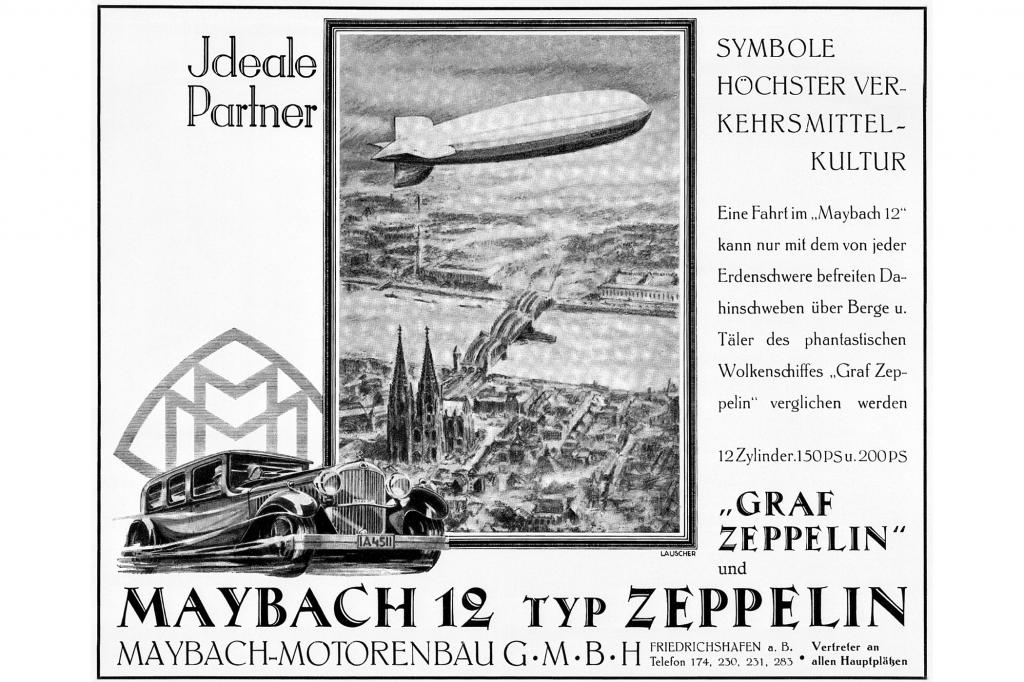 Maybach 12 Typ Zeppelin, 1929