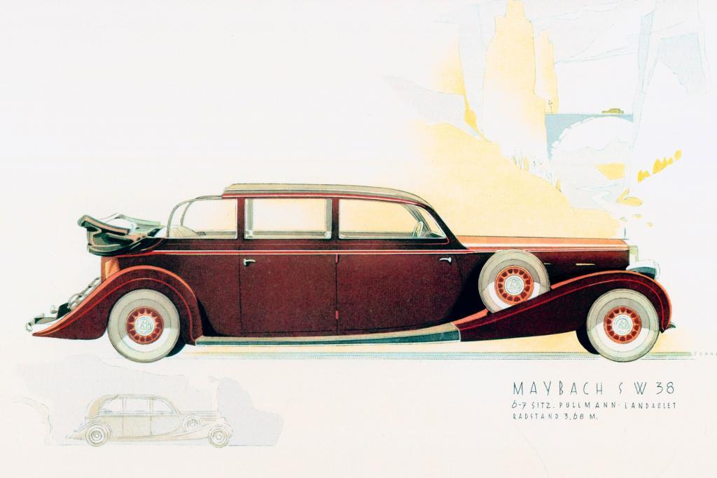 Maybach SW38 Pullmann Landaulet