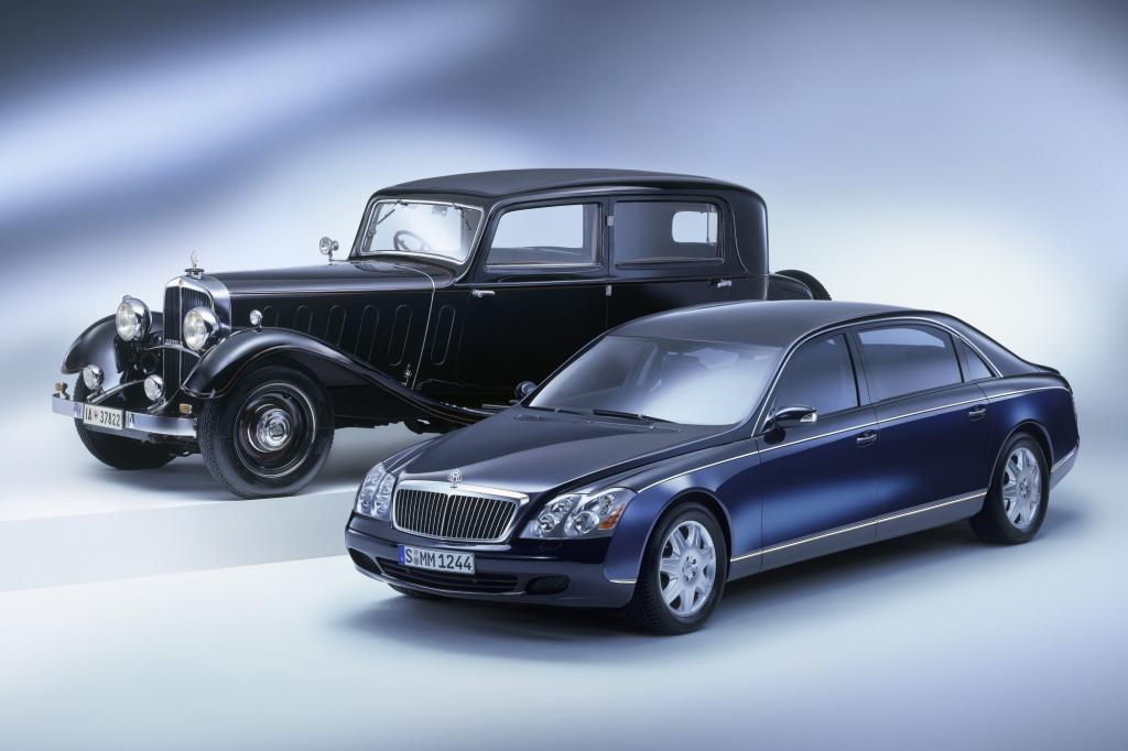 Maybach Zeppelin 1930 und Maybach 62