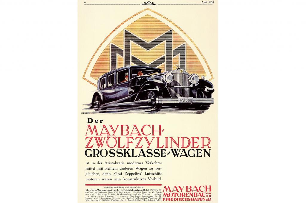 Maybach Zwölzylinder, 1930