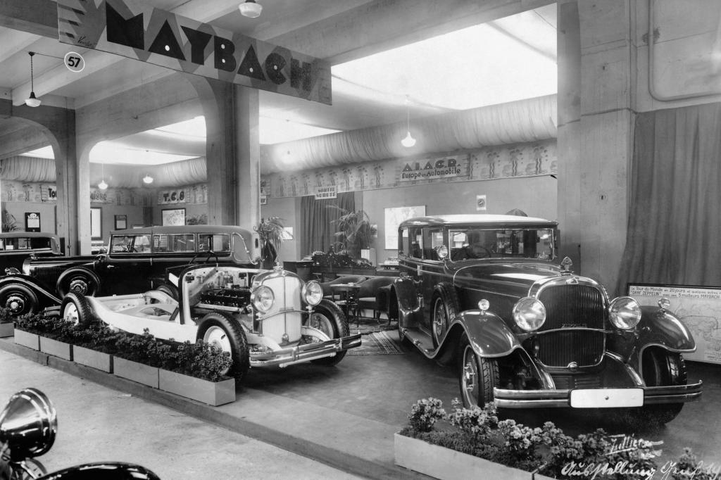 Maybach auf dem Genfer Autosalon 1931
