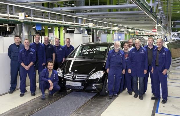 Mercedes-Benz-Werk Rastatt produziert einmillionste A-Klasse