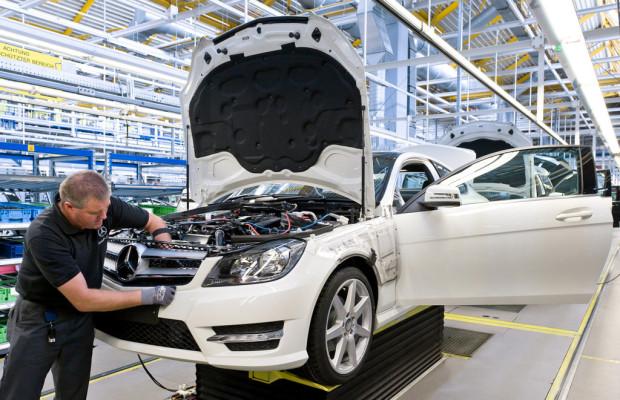 Mercedes-Benz steht vor Produktionsrekord