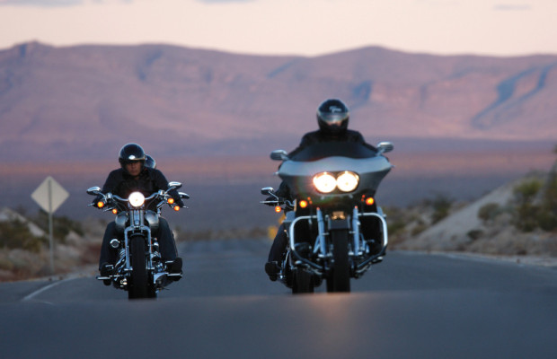 Mit Harley-Davidson auf Tour