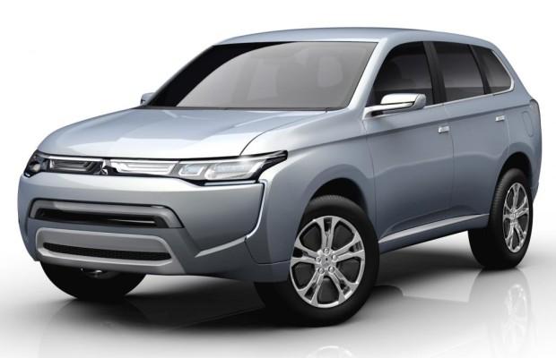 Mitsubishi plant Leicht-Lkw mit Elektroantrieb