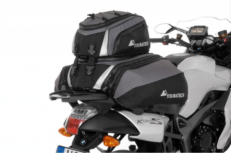 Motorrad Messe Leipzig 2012: Touratech Travel Bag mit Ad Bag