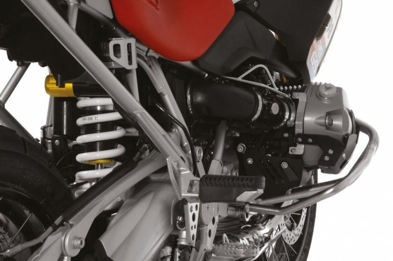 Motorrad Messe Leipzig 2012: Touratech mit Suspension Fahrwerk, Travel Bag und Companero Motorradanzug