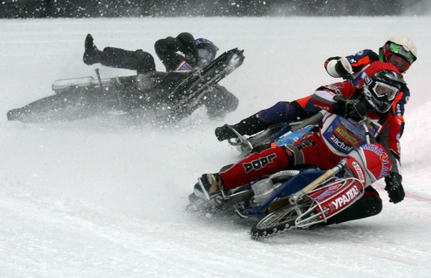 Motorradfahren im Winter - Nur mit passenden Reifen in den Schnee