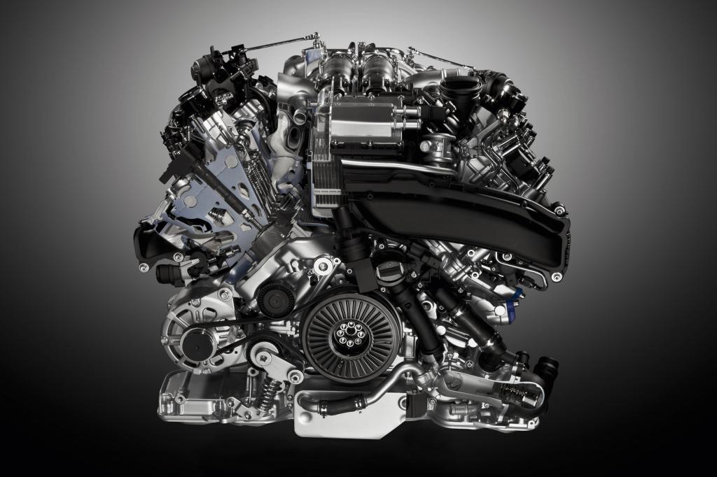 Neben Mercedes setzt auch Audi bei seinem V8 auf die Spartechnik. In den sportlichen Modellen S6, S7 und S8 wird der 4,0-Liter-V