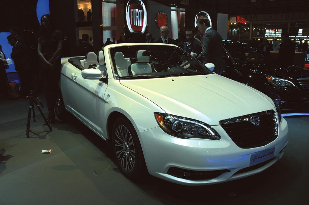 Neu 2012 bei Lancia: Flavia Cabrio, hier beim Genfer Salon 2011.