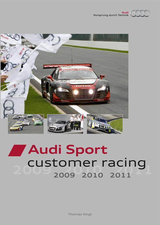 Neues Buch: Der Audi R8 LMS auf 256 Seiten und in 700 Bildern