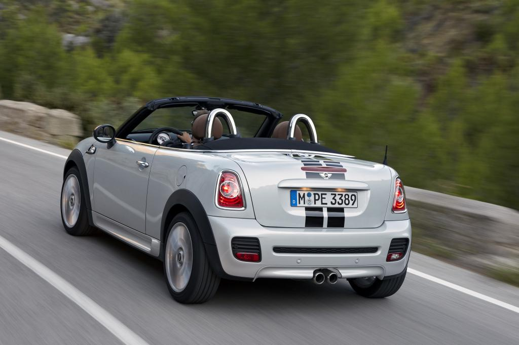 Offen und sportlich zeigt sich der Mini Roadster