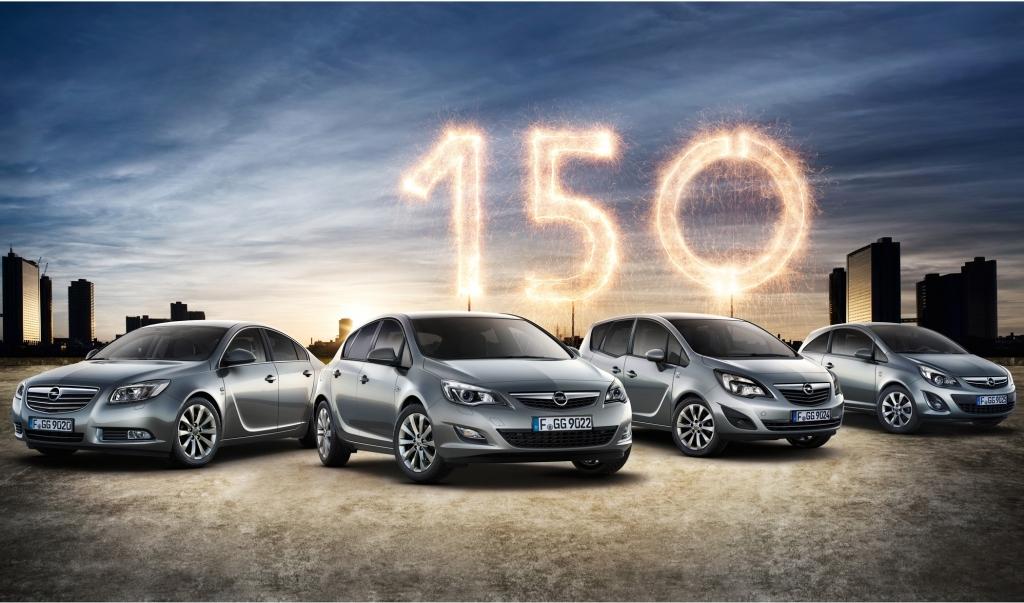 Opel Sondermodelle - Ein paar Extras zum 150sten