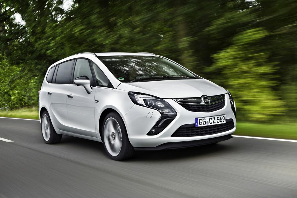 Opel Zafira Tourer CNG mit Reichweitenbestwert