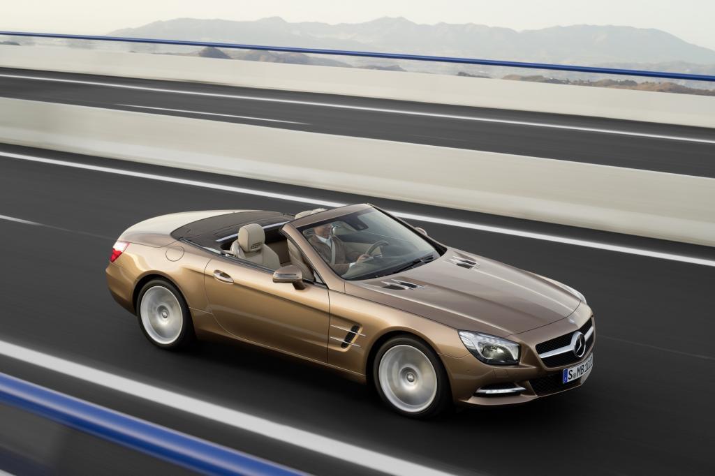 Pünktlich zum 60. Geburtstag der Baureihe legt Mercedes Anfang 2012 die neue Generation des Roadsters auf